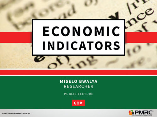 Economic Indicators UNZA_Presentation