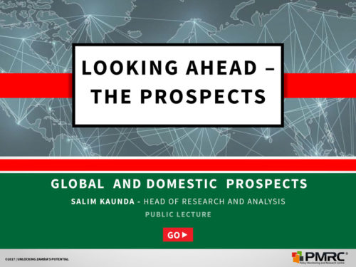 Looking ahead – The Prospects  UNZA_Presentation