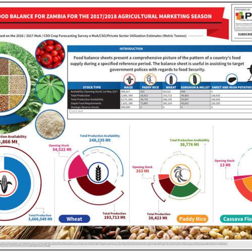 National Food Balance Infographic