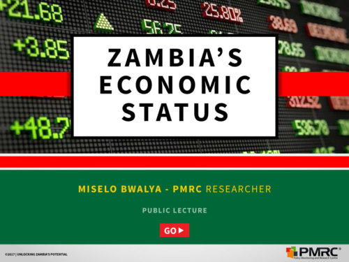 Zambia's Economic Status – Copperbelt Presentation