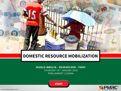 Domestic Resource Mobilisation – Parliament Presentation 2018