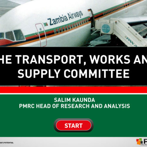 The Transport, Works and Supply Committee – Presentation